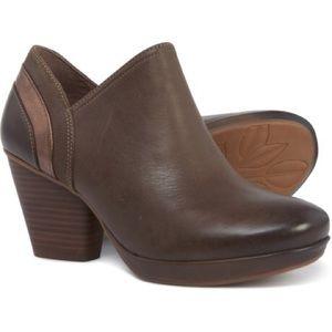 Dansko leather bootie -Marcia